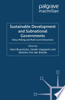 Sustainable Development and Subnational Governments
