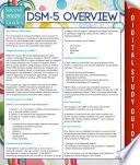 Dsm 5 Overview Speedy Study Guides