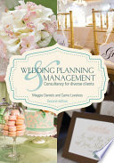 Wedding Planning and Management Edition Provides Students Consultants Vendors Scholars And Engaged