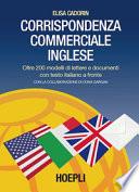 Corrispondenza commerciale inglese  Per le Scuole superiori