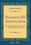 Doctrina XII Apostolorum