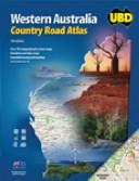 Ubd Western Australia Country Road Atlas book