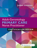 Adult Gerontology Primary Care Nurse Practitioner Certification Review
