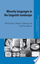 Minority Languages in the Linguistic Landscape