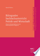 Bilingualer Sachfachunterricht Politik Und Wirtschaft