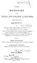 download ebook *baretti\'s italian dictionary pdf epub