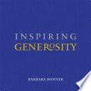Inspiring Generosity
