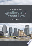 A Guide to Landlord and Tenant Law Book PDF