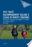 Petit trait   d accompagnement scolaire    l usage de parents concern  s