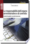 Le responsabilit   dell   organo amministrativo e di controllo