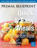 Primal Blueprint Quick   Easy Meals