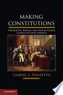 Making Constitutions