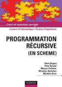 Programmation r  cursive  en Scheme