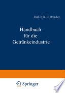 Handbuch für die Getränkeindustrie