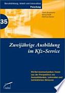 Zweijährige Ausbildung im Kfz-Service