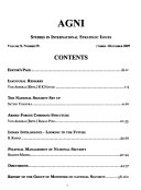 Studies In International Strategic Issues