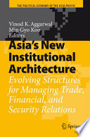 Asia S New Institutional Architecture