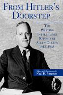 From Hitler S Doorstep