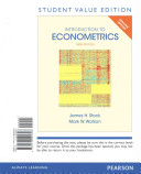 Introduction to Econometrics  Update  Student Value Edition