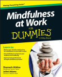 Mindfulness At Work For Dummies book