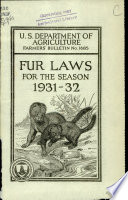 Fur laws for the season 1931 32