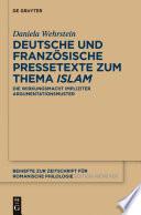 Deutsche und französische Pressetexte zum Thema 'Islam'