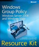 Windows Group Policy Resource Kit