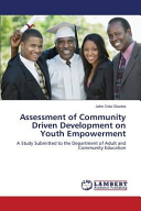 Assessment of Community Driven Development on Youth Empowerment