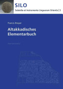 Altakkadisches Elementarbuch