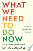 Book What We Need to Do Now