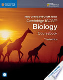 Cambridge IGCSE   Biology Coursebook with CD ROM