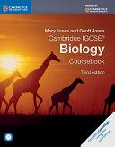 Cambridge IGCSE® Biology Coursebook with CD-ROM
