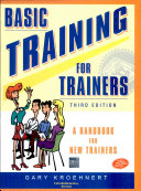 Basic Training For Trainers 3 E