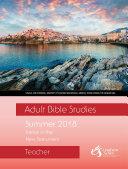 Adult Bible Studies Summer 2018 Teacher   PDF Download