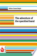 The adventure of the speckled band  low cost   Limited edition