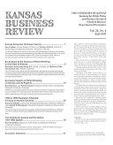 Kansas Business Review