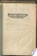 Das Buch von pflanzung der   cker
