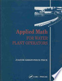 Applied Math For Water Plant Operators