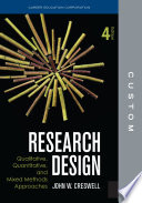 CUSTOM  CEC Edition Research Design 4e