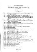 Statutory Rules   Orders of British Honduras for the Year