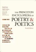 download ebook the princeton encyclopedia of poetry and poetics pdf epub