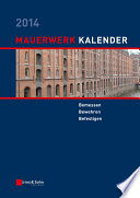 Mauerwerk Kalender 2014