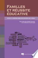 illustration du livre Familles et réussite éducative
