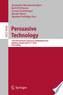 Ebook Persuasive Technology Epub Alexander Meschtscherjakov,Boris De Ruyter,Verena Fuchsberger,Martin Murer,Manfred Tscheligi Apps Read Mobile