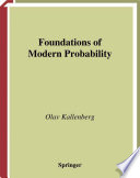 Foundations of Modern Probability