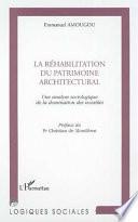 R  HABILITATION DU PATRIMOINE ARCHITECTURAL