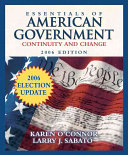 The Essentials of American Government 2006