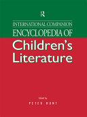 International Companion Encyclopedia of Children's Literature Book