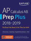 AP Calculus AB Prep Plus 2018 2019