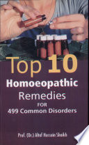 Top 10 Homoeopathic Remedies for 499 Common Disorders